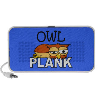 Owl Plank Mini Speakers