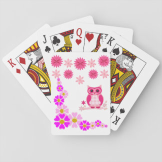 Owl Playing Card Deck