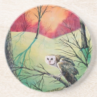"Owl Products featuring ""Soren: Owl of Ga' Hoole"" Coaster"