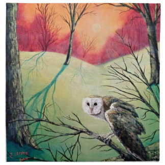 "Owl Products featuring ""Soren: Owl of Ga' Hoole"" Napkin"