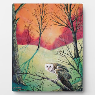 """Owl Products featuring """"Soren: Owl of Ga' Hoole"""" Plaque"""