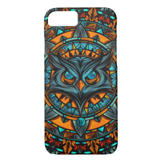 Owl Psychedelic Mandala HD Design iPhone 8/7 Case