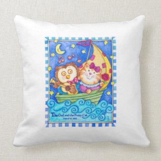 Owl & Pussycat Crib Pillow
