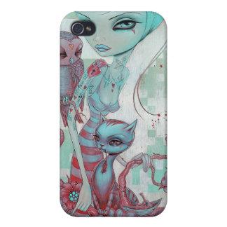 Owl & Pussycat iPhone case iPhone 4 Cases