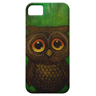 Owl sad eyes case for the iPhone 5