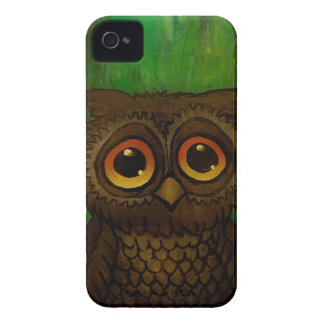 Owl sad eyes Case-Mate iPhone 4 case