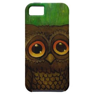 Owl sad eyes iPhone 5 cases