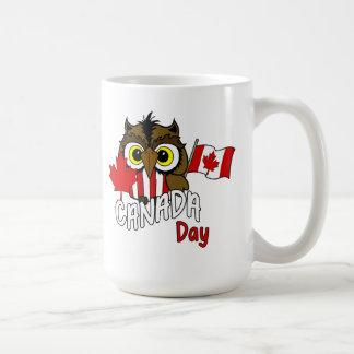 Owl See You Canada Day Mug
