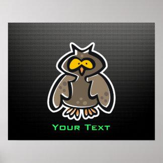 Owl; Sleek Print