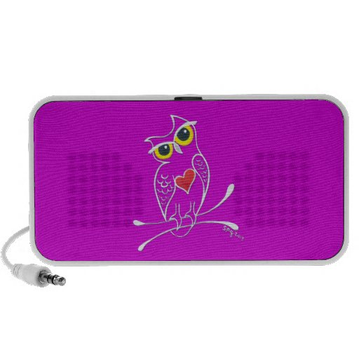 Owl Speakers - Available in a rainbow of colors
