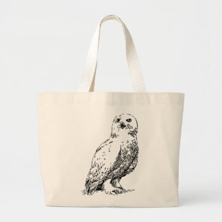 owl stamp canvas bags