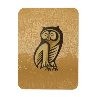 Owl Symbol Color Magnet
