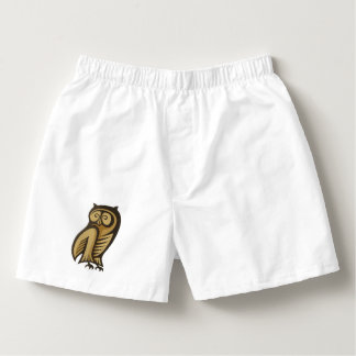 Owl Symbol Colour Boxers
