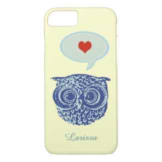 owl talking about love iPhone 7 case