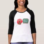 Owl Teacher At Chalkboard Personalised Shirt