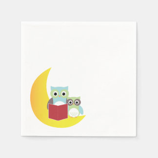 Owl Themed Napkins- Baby Shower Disposable Serviette