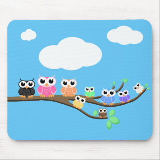 """OWL Together Now"" Mouse Pad"
