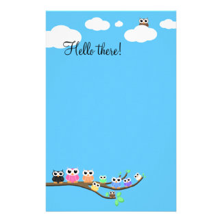 """OWL Together Now"" Personalised Stationery"