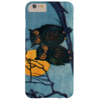 Owl Tree Night Full Moon Halloween Barely There iPhone 6 Plus Case