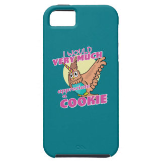 Owl Unicorn I Would Very Much Appreciate a Cookie Case For The iPhone 5