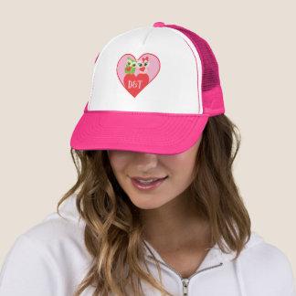 Owl Valentine Sweetheart Couple Trucker Hat