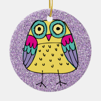 OWL - What a Hoot! SRF Ceramic Ornament