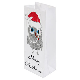 Owl Wine Bag (You can Customize)