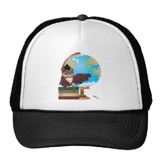 Owl with Globe Cap