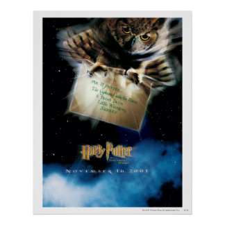 Owl with Letter Movie Poster