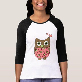 Owl WIth Love T-shirts