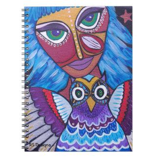 Owl Woman Notebook