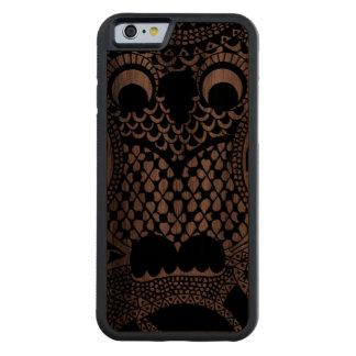 Owl Walnut iPhone 6 Bumper