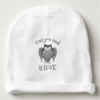 Owl you Need Baby Beanie