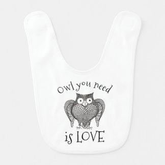 Owl you Need Bib