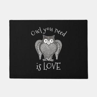 Owl you Need Doormat