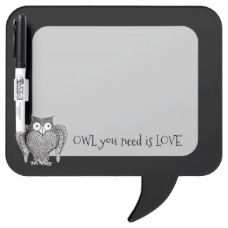 Owl you Need Dry Erase Board