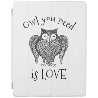 Owl you Need iPad Cover