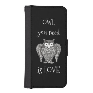Owl you Need iPhone SE/5/5s Wallet Case