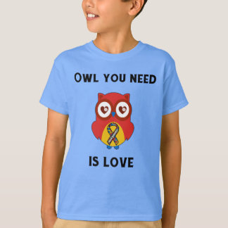 Owl You Need is Love, Autism Awareness T-Shirt