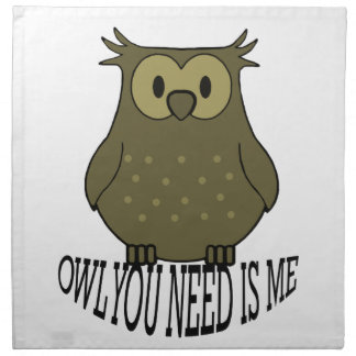 owl you need is me napkin