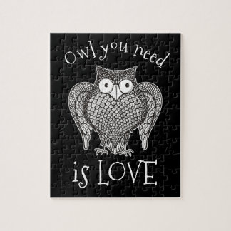 Owl you Need Jigsaw Puzzle