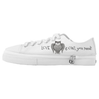 Owl you Need Low Tops