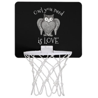 Owl you Need Mini Basketball Hoop