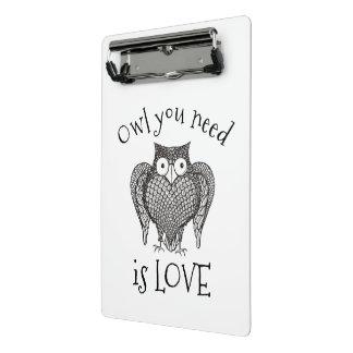 Owl you Need Mini Clipboard