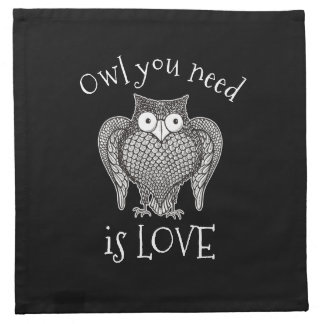 Owl you Need Napkin