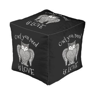 Owl you Need Pouf