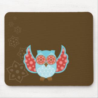 OwlBoheme Blu Mousepad