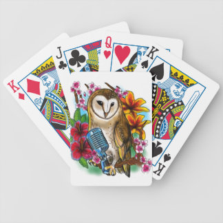 Owlie Bicycle Playing Cards