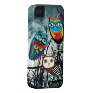 Owlies Owl Owly Owls Case-Mate iPhone 4 Case