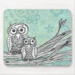 Owls 102 mousemat